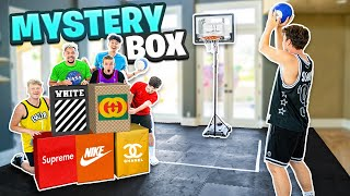 Last To Miss MINI HOOP SHOT Wins Mystery BOX!