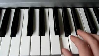 Current 93 - Larkspur and Lazarus (Piano Tutorial)