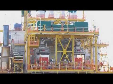 Siemens Power Generation Module - Shell Champion-7 Exploration Platform