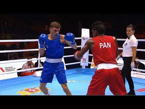 Round Of 32 (63kg) MINIEL MURILLO JONATHAN (PAN) Vs McCORMACK Luke (ENG) /AIBA World 2019