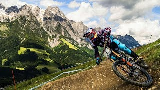 Aaron Gwin Three-Peats in Leogang: Winning Run | UCI MTB World Cup 2017 thumbnail