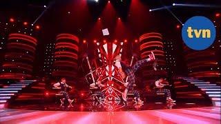 Niesamowicie energiczny występ zespołu Sztrymy Gang w półfinale! [Mam Talent!]