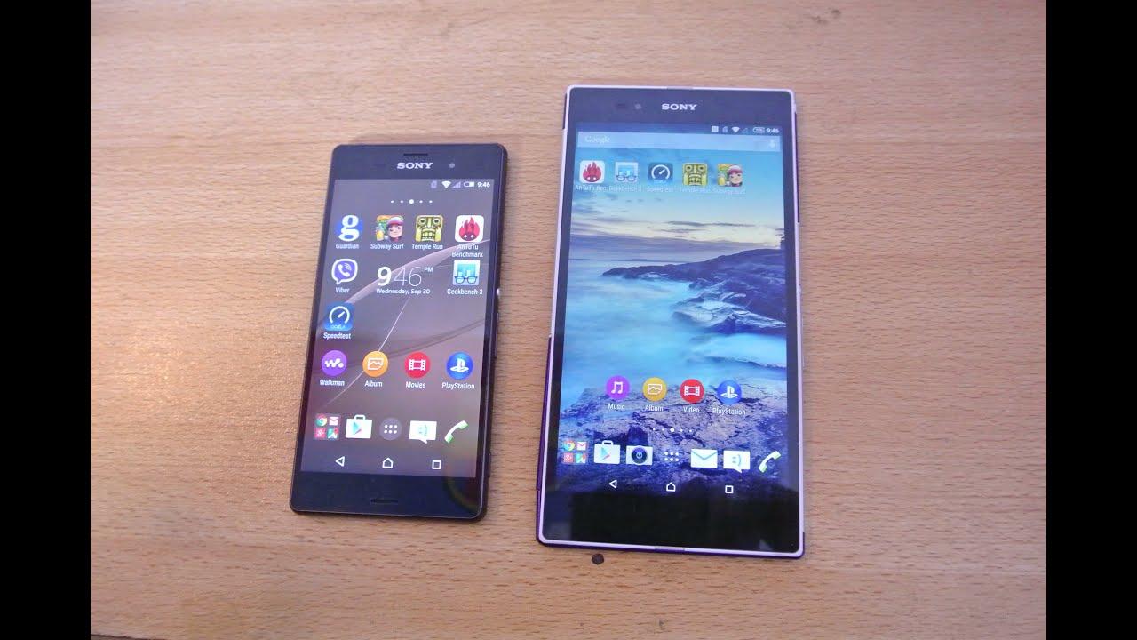 S5 vs iphone 6 Plus vs xperia z3