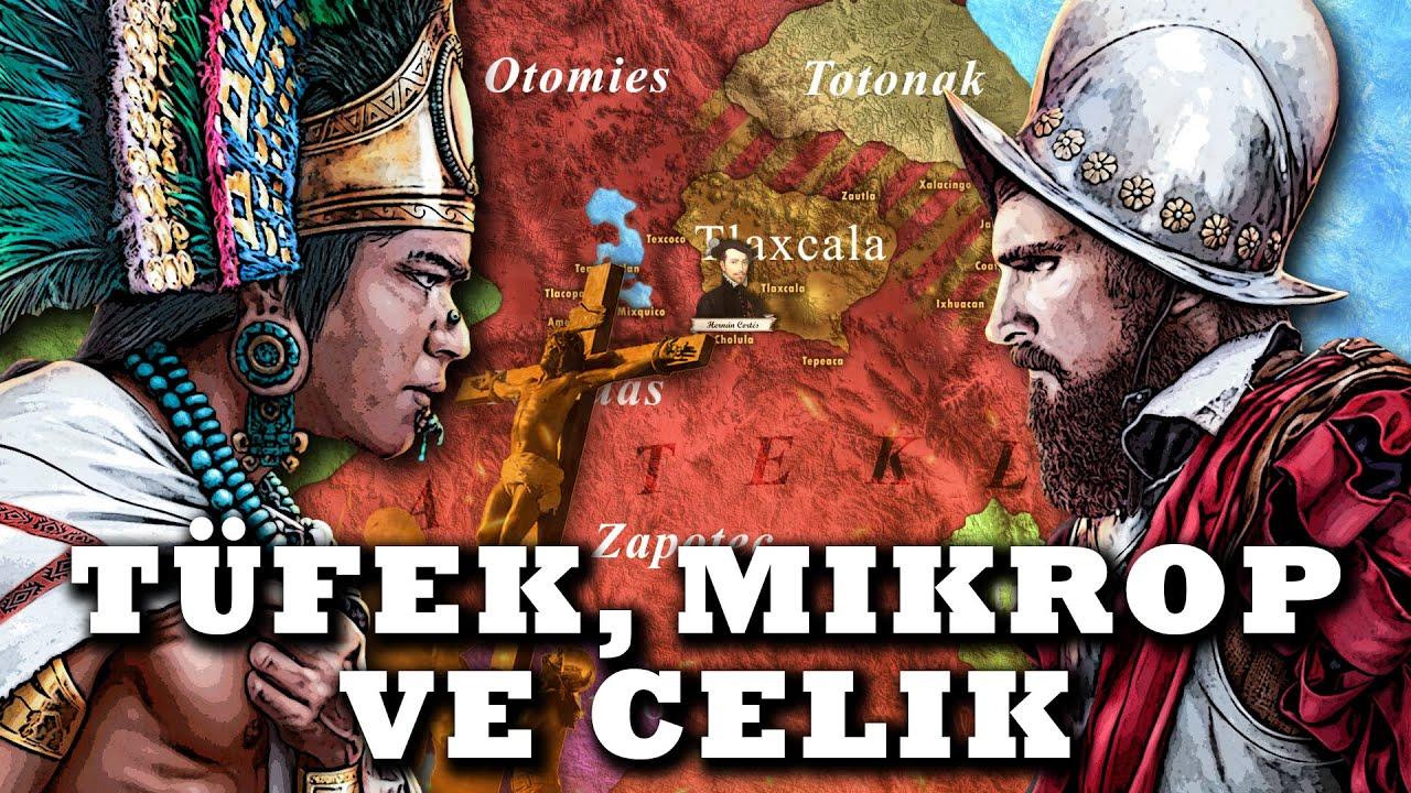Aztek İmparatorluğunun Sonu (1519-21) || Hernan Cortes || DFT Tarih