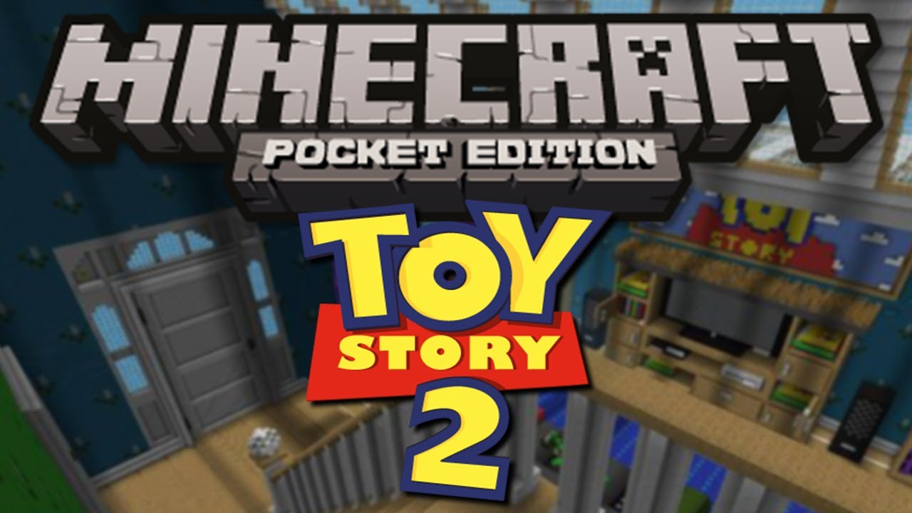 TOY STORY MAP! - Minecraft Pocket Edition - YouTube