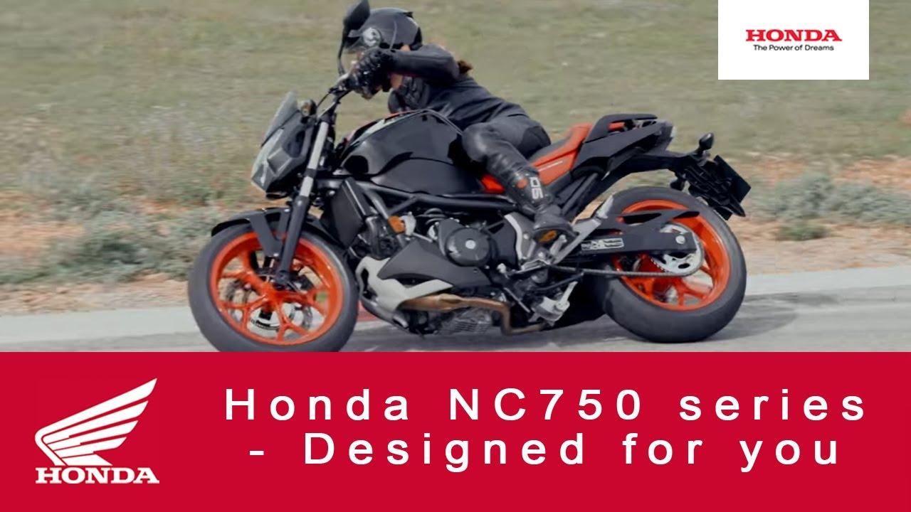 Honda Nc750 Series Designed For You Youtube