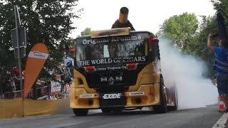 truck race action in glasbach 2015 egon allgäuer