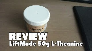 [Review] LiftMode L-Theanine Review