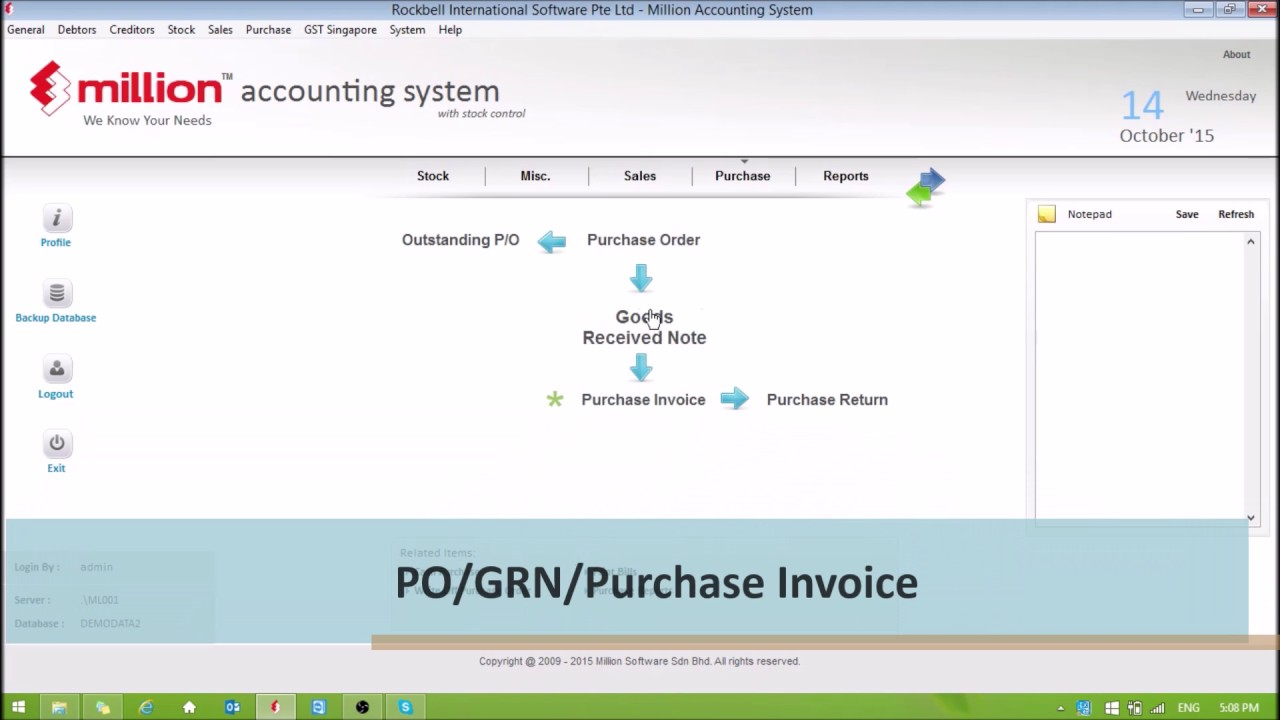 Million Acccounting & Payroll Software Singapore | Free Demo