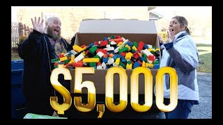 I ONLY PAID $601 for a MASSIVE $5,238 Amazon LEGO & TOYS Customer Returns Pallet