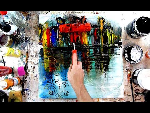 PLAYING WITH ABSTRACT PAINTING IDEAS BACKGROUND FOR PRAISE ... on Modern Painting Ideas  id=70090