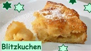 Blitzkuchen: Italienischer Apfelkuchen, in 10 Minuten bereit für den Ofen!