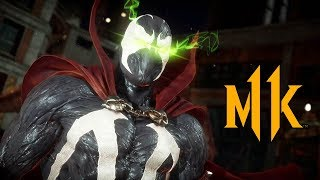 MORTAL KOMBAT 11 - SPAWN Gameplay Trailer @ 1080p (60ᶠᵖˢ) ✔