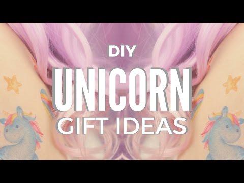 DIY: Unicorn Gift Ideas | DIY Temporary Tattoos & Mug