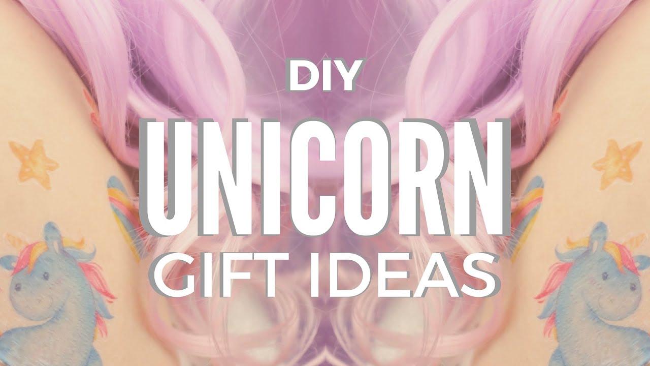 DIY: Unicorn Gift Ideas | DIY Temporary Tattoos & Mug - YouTube