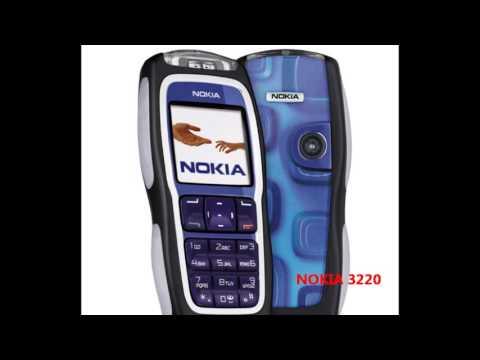 Celulares Nokia de 1996 a 2005 (parte 1)