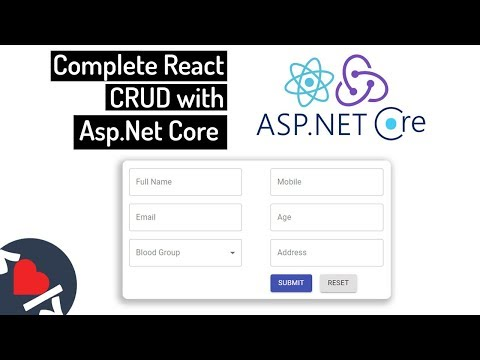 Complete React CRUD With Asp.Net Core Web API   Full Stack Tutorial