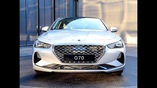 2019 Genesis G70 3.3T Sport AWD – New Midsize Luxury Sedan