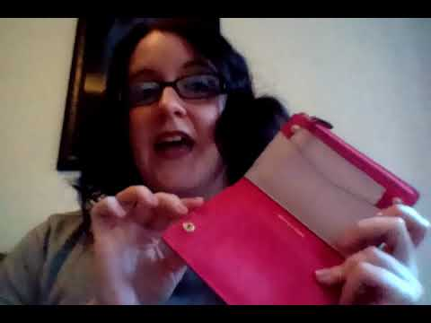 b2d5ef7f39897 First Impressions-Michael Kors Jet Set Medium Slim Saffiano Leather Wallet  in Soft Pink Ultra Pink