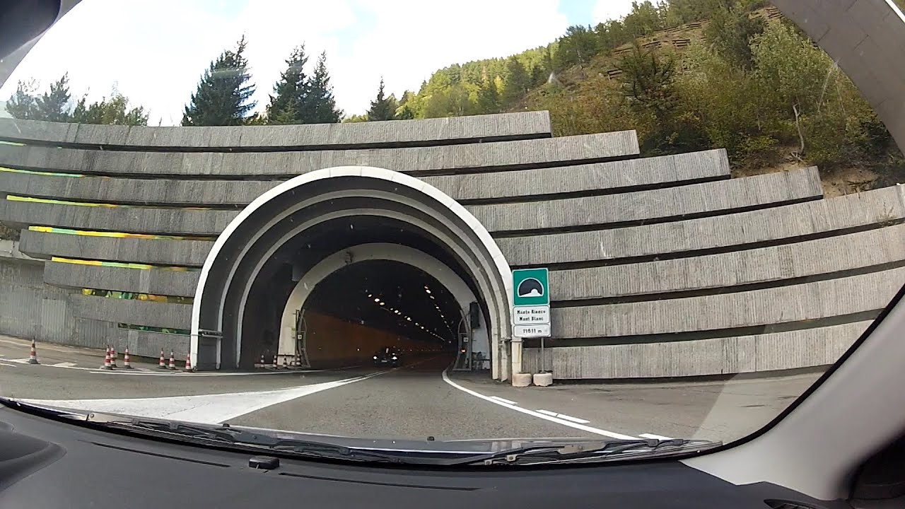 mont blanc tunnel traforo del monte bianco traforo t1 2nd highest motorway in europe it. Black Bedroom Furniture Sets. Home Design Ideas