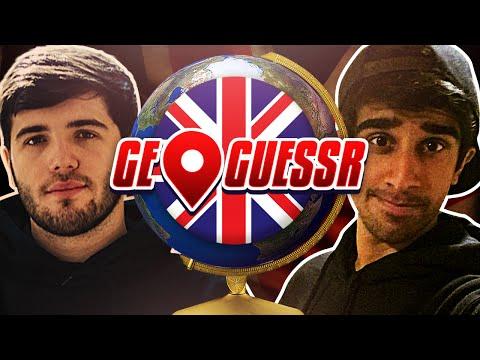 GEOGUESSR #1 With Vikk & Josh (GeoGuessr UK Challenge)