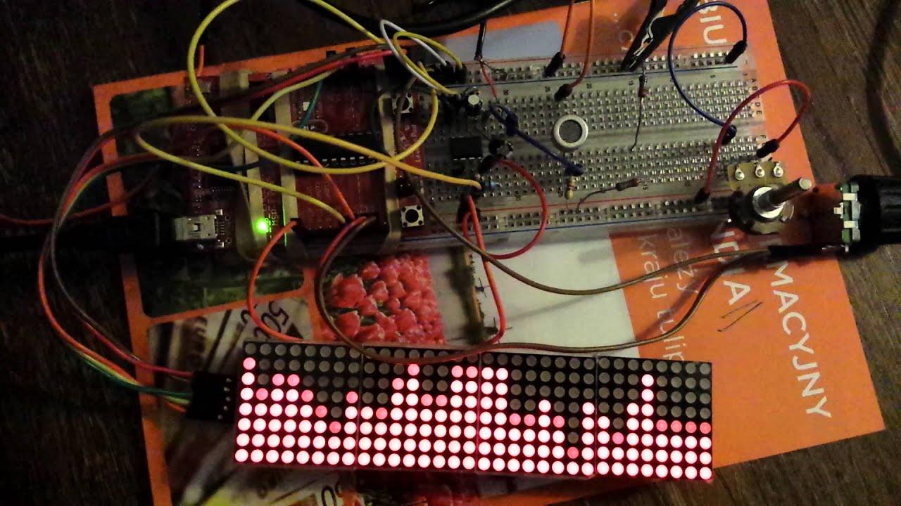 8 Bit FFT Spectrum Analyzer - simpleavr