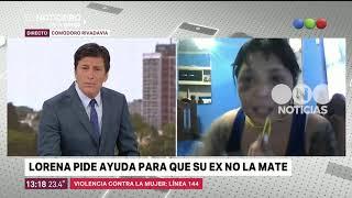 Lorena pide ayuda para que su ex no la mate - El noticiero de la gente