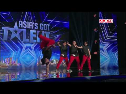 Crowd Flips Over Velasco Brothers Acrobatics | Asia's Got Ta