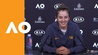 Catherine Bellis Press Conference (3R) | Australian Open 2020