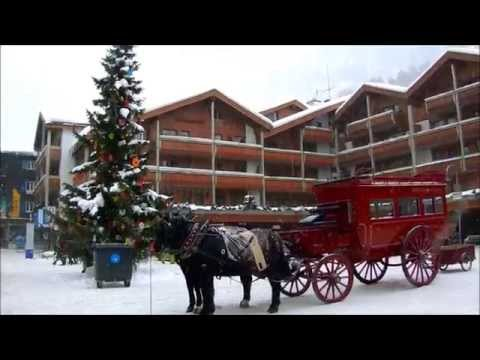 CHRISTMAS MAGIC IN SWITZERLAND Scènes with songs 2014 HD
