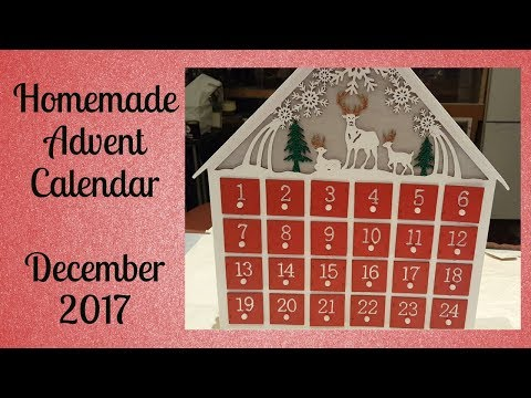 Homemade Advent Calendar | Hobbycraft DIY Project | December 2017