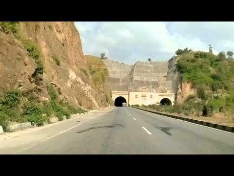 A drive in Aravali Hills, Rajasthan