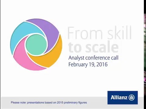 Allianz Group Analysts' conference call on the group financial results 2015