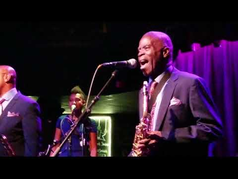 Maceo Parker 2/25/18 Ardmore Music Hall Opening song