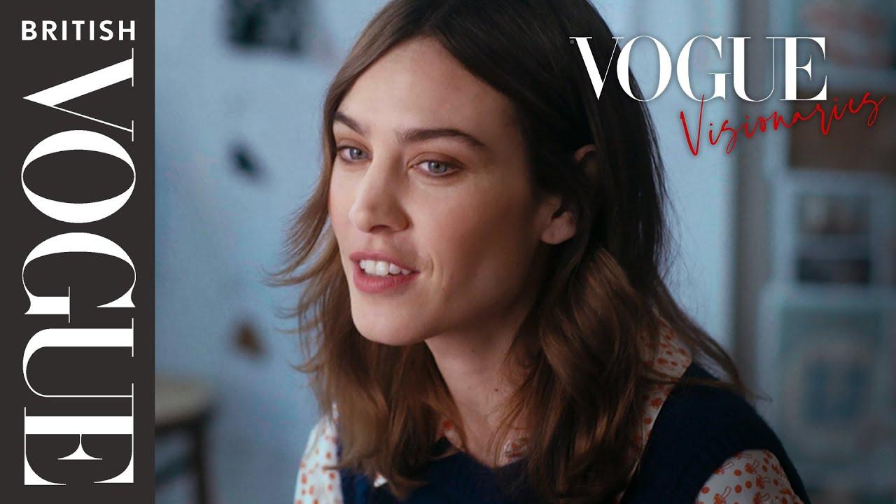 Alexa Chung: Vogue Visionaries   Episode 2   British Vogue & YouTube