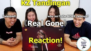 KZ Tandingan - Real Gone | Reaction Video - Aussie Asians 谭定安 单曲纯享《歌手2018》第8期 Singer 2018 歌手官方频道