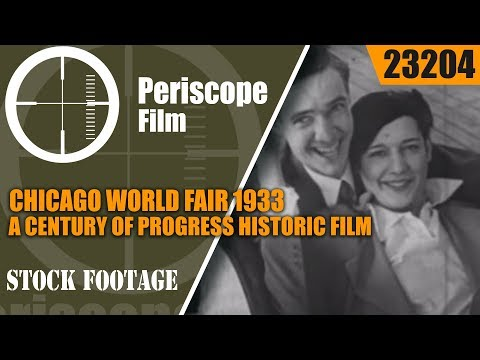 CHICAGO WORLD FAIR  1933  A CENTURY OF PROGRESS HISTORIC FILM 23204