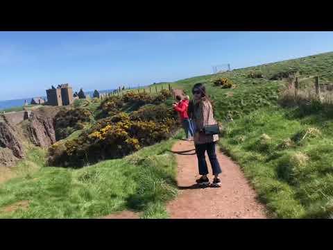 Dunnottar castle   coastal walk   Scotland