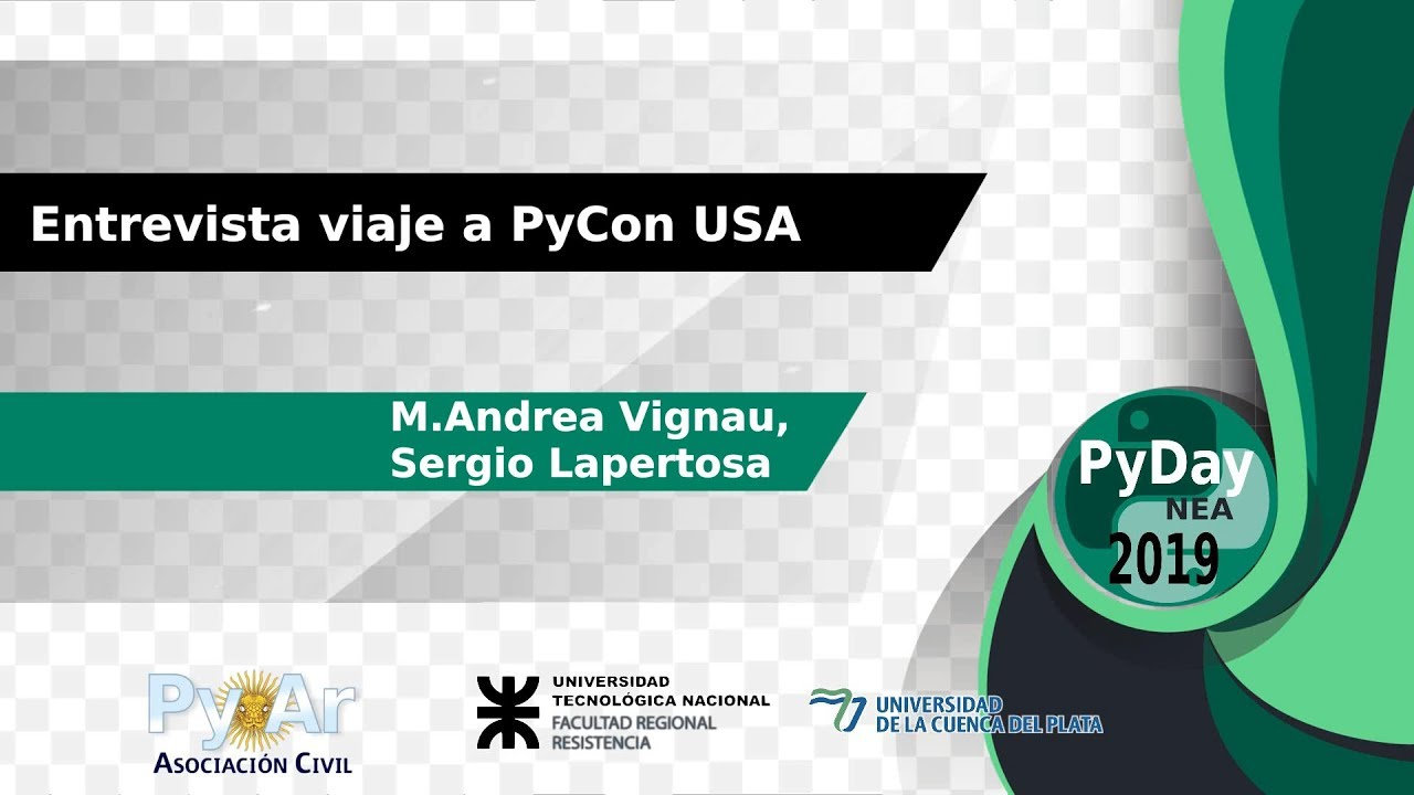 Image from Viaje a PyCon USA