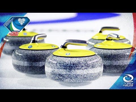 Latvia v Estonia (Women) - World Junior-B Curling Championships 2017