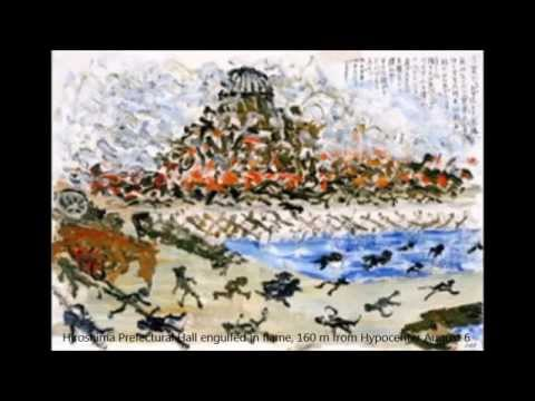 """A-bomb Drawings-Dan Symphony 6 """"Hiroshima""""-Wiener Symphoniker"""