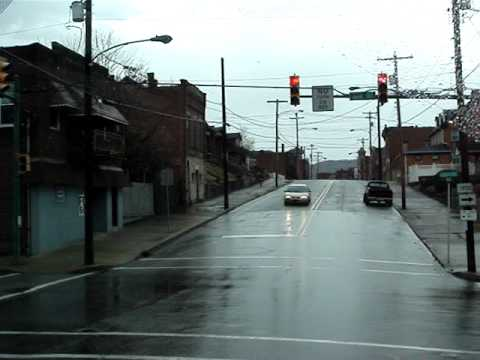 Drive through downtown Donora