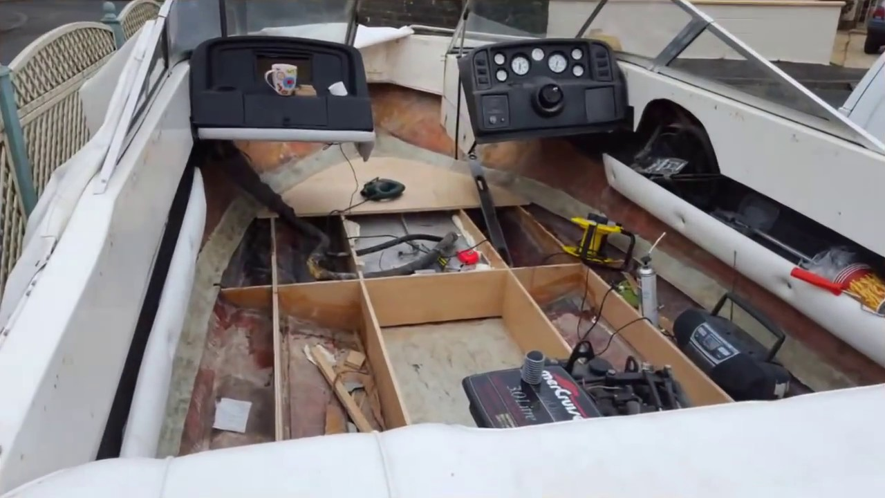 Boat deck floor restoration tutorial how to fix mend and replace boat deck floor restoration tutorial how to fix mend and replace rotten plywood fiberglass solutioingenieria Image collections
