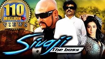 Sivaji The Boss (Sivaji) Hindi Dubbed Full Movie   Rajinikanth, Shriya Saran