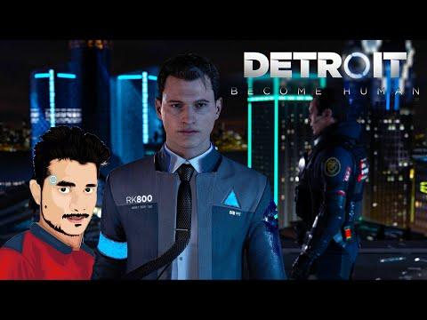 DETROIT BECOME HUMAN :ரோபோவின் கதை PC GAME LIVE🔴தமிழில் #gamervichu thumbnail