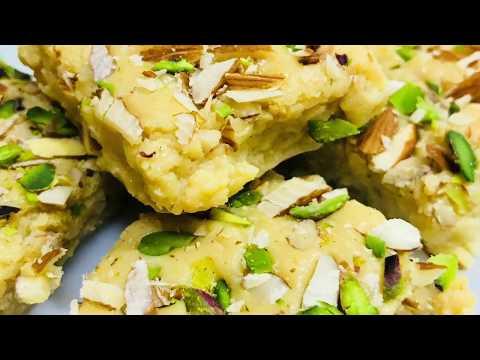Instant Kalakand In 10 Minutes; Homemade Milk Cake;  By Meenu Verma