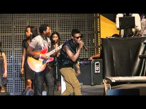 Ice Prince Performs Baby; Wizkid Performs Superstar