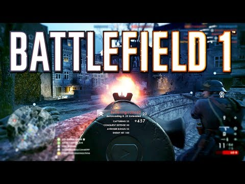 Battlefield 1: 50-2 on Prise de Tahure with Controller Cam (PS4 PRO Multiplayer Gameplay)