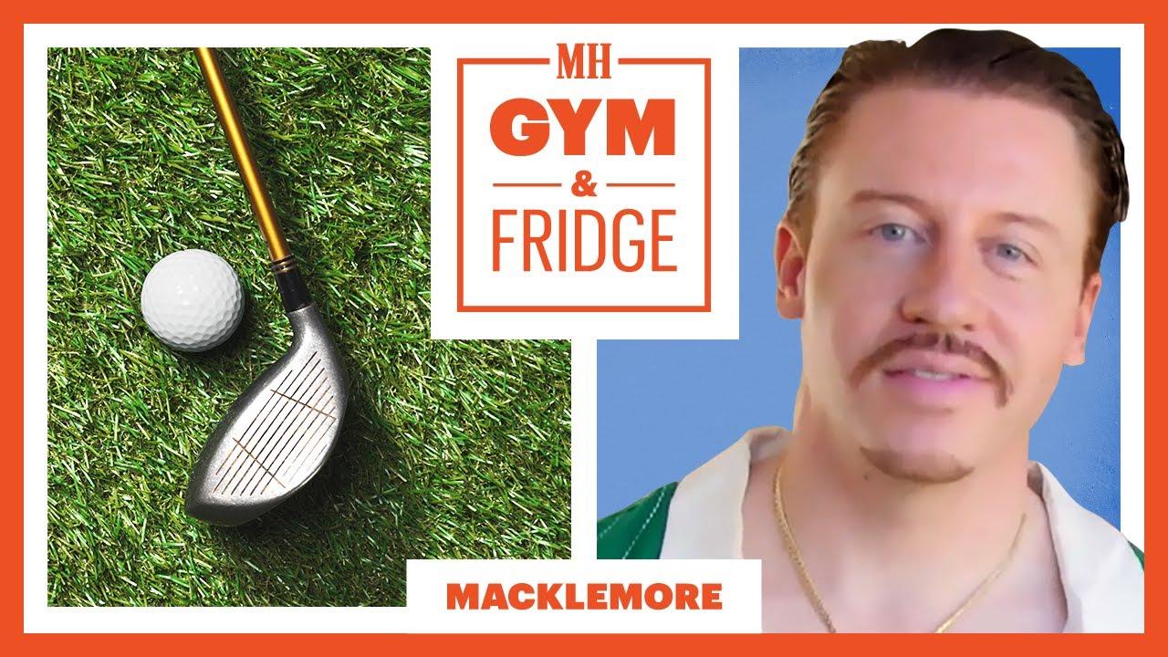 Macklemore Shows His Home Gym & Fridge   Gym & Fridge   Men's Health