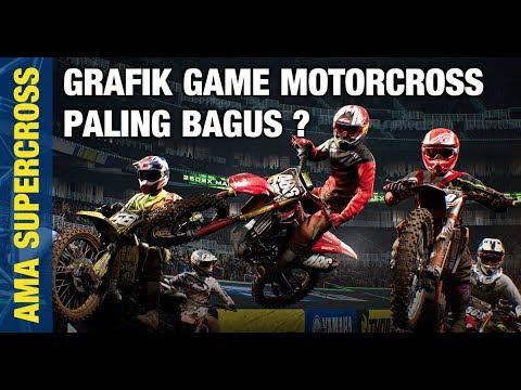 OKE KITA COBAIN GAME MOTOR! | Monster Energy Supercross Indonesia